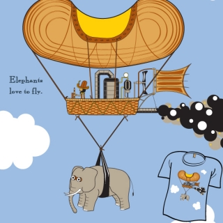 Elephants Love To Fly